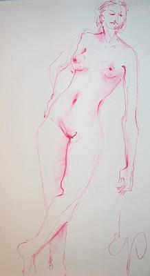 Painting - Hmmm by Elizabeth Parashis