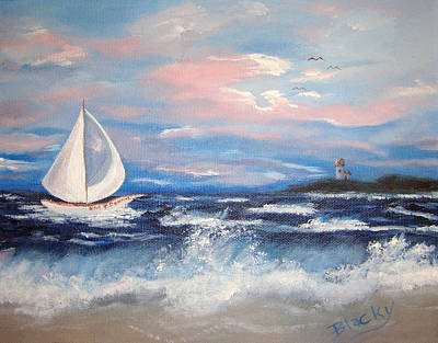 Painting - Hms Bonnie by Donna Blackhall
