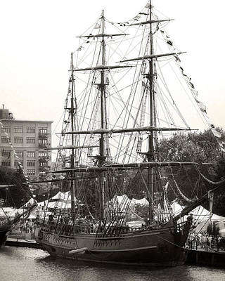 Photograph - Hms Bounty 1 by Scott Hovind