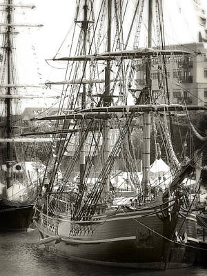 Photograph - Hms Bounty 4 by Scott Hovind