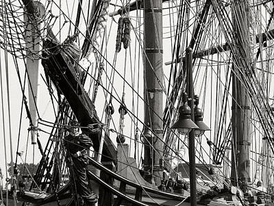 Photograph - Hms Bounty 5 by Scott Hovind