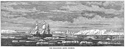 Hms Challenger, 1874 Art Print by Granger