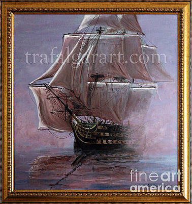 Painting - Hms Victory 1765 by Rich Holden