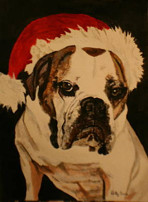 Painting - Ho Ho Ho by Betty-Anne McDonald