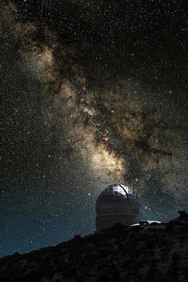 Hobby-eberly Telescope Art Print