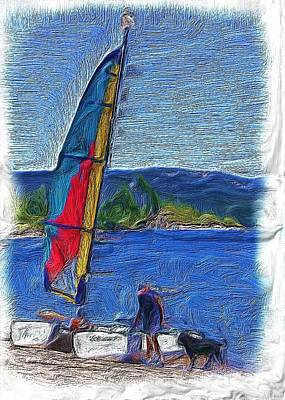 Placerville Photograph - Hobie At Icehouse by Mike Durant