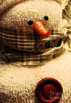 Photograph - Hobo Snowman II by Jani Freimann