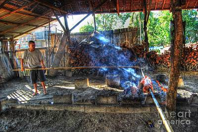 Photograph - Hog Roast by Yhun Suarez