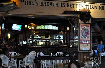Photograph - Hog's Breath Saloon by John Black