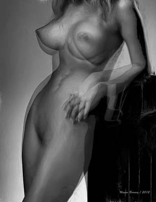 Hold On Art Print by Wayne Bonney
