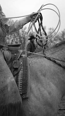 Photograph - Holdin And Runnin Slack by Diane Bohna