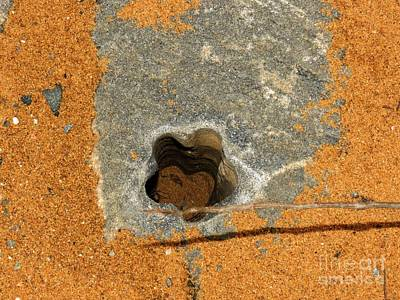 Marvelous Marble Rights Managed Images - Hole in the Rock 01 Royalty-Free Image by Rrrose Pix
