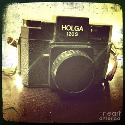 Art Print featuring the photograph Holga by Nina Prommer