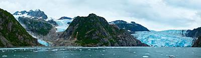 Photograph - Holgate Glaciers by Adam Pender