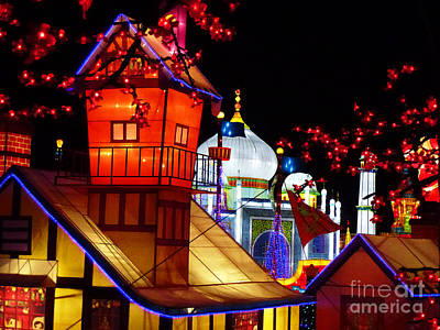 Photograph - Holiday Lights 2 by Xueling Zou