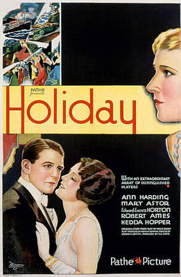 Photograph - Holiday, Robert Ames, Mary Astor, Ann by Everett