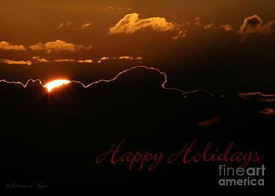 Photograph - Holiday Sunrise by Sabrina L Ryan