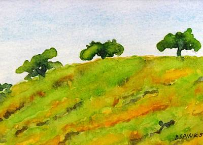 Painting - Hollister Hills IIi by Debra Spinks