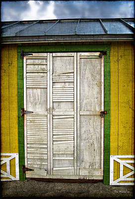 Photograph - Holliwood Beach Door by Joan  Minchak