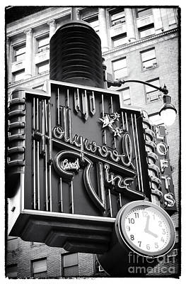 Photograph - Hollywood And Vine Restaurant by John Rizzuto