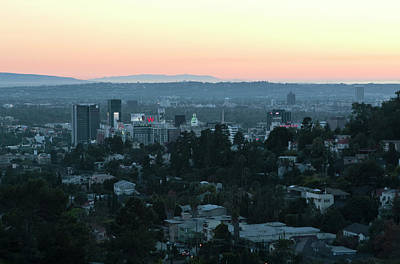Photograph - Hollywood At Sunset by Lorraine Devon Wilke