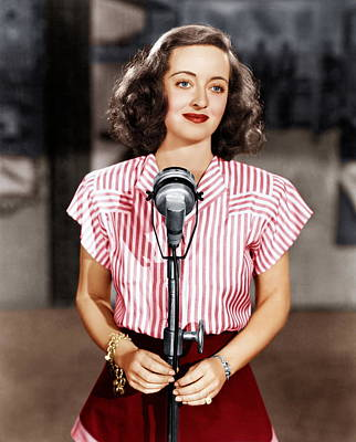 Hollywood Canteen, Bette Davis, 1944 Art Print