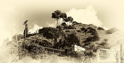 Photograph - Hollywood Hills by John Rizzuto