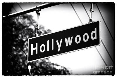 Photograph - Hollywood by John Rizzuto