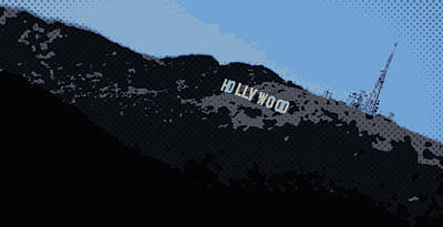 Photograph - Hollywood Pop Art by Brad Scott