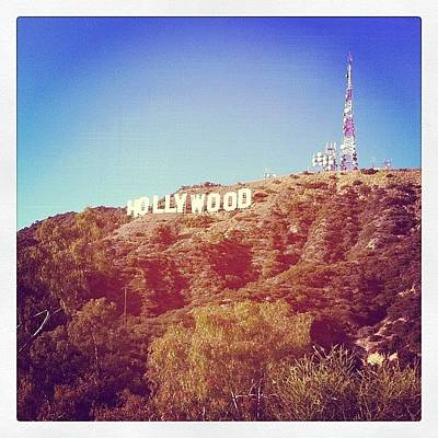 Hollywood Wall Art - Photograph - Hollywood Sign by Carlos Shabo