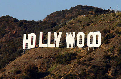 Photograph - Hollywood Sign by Sheila Kay McIntyre