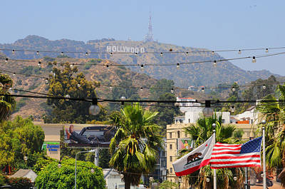 Photograph - Hollywood U.s.a by Lynn Bauer