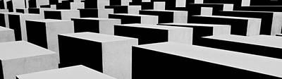 Photograph - Holocaust Memorial - Berlin by Juergen Weiss