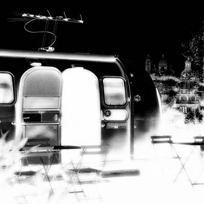 Sacre Coeur Photograph - Holy Airstream by Andrew Fare