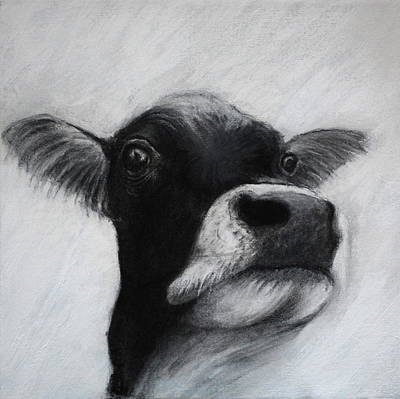 Drawing - Holy Cow by Lynn Hughes