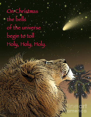 Digital Art - Holy Holy Holy by Shaboo Prints