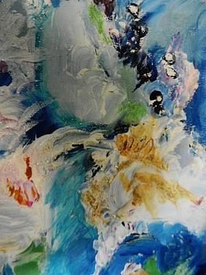 Holy Horse Plop Art Print by Marina R Vladis