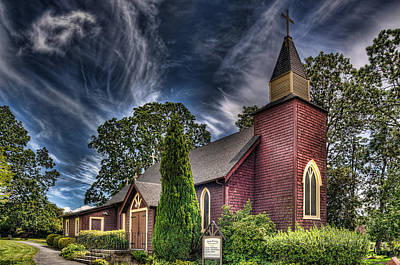 Photograph - Holy Trinity Anglican Church by Sandra Sigfusson