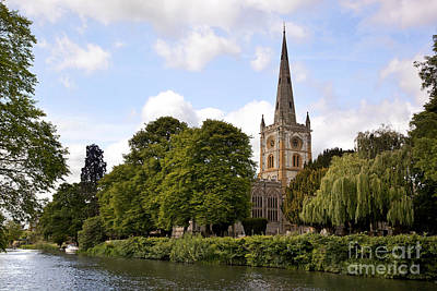 Stratford Photograph - Holy Trinity Church by Jane Rix