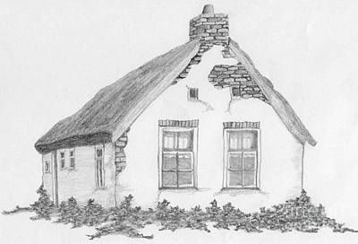 Drawing - Home by Annemeet Hasidi- van der Leij
