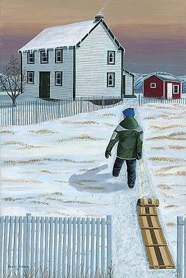 Home From The Hill Original by Barry Penton