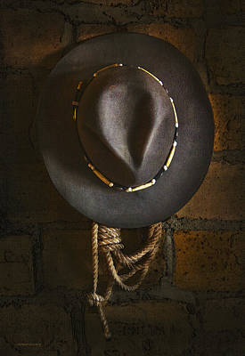 Hat Photograph - Home From The Range by Ron Jones