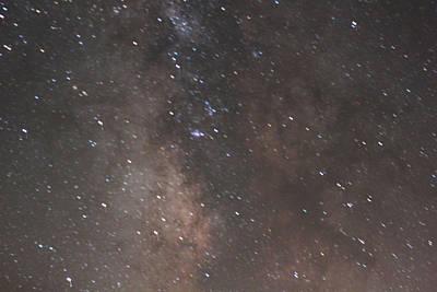 Galactic Alignment Photograph - Home Galaxy Burning Hydrogen I by Carolina Liechtenstein