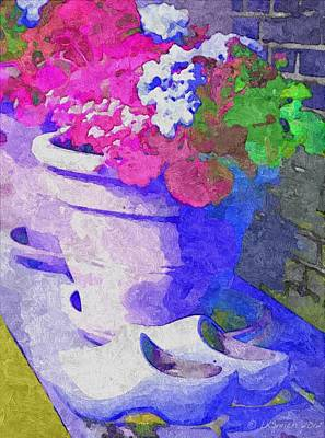Painting - Home Grown From Holland by Lynda K Cole-Smith