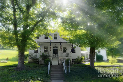 Photograph - Home Of Anna Jarvis by Dan Friend