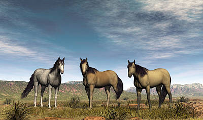 Digital Art - Home On The Range by Walter Colvin