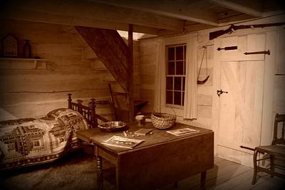 Photograph - Home Sweet Home In Sepia by David Dunham