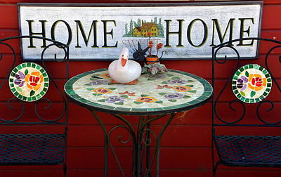 Home Sweet Home Art Print by Jeff Lowe