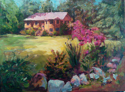Painting - Home Sweet Home by Nanci Cook