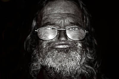 Photograph - Homeless by Gray  Artus